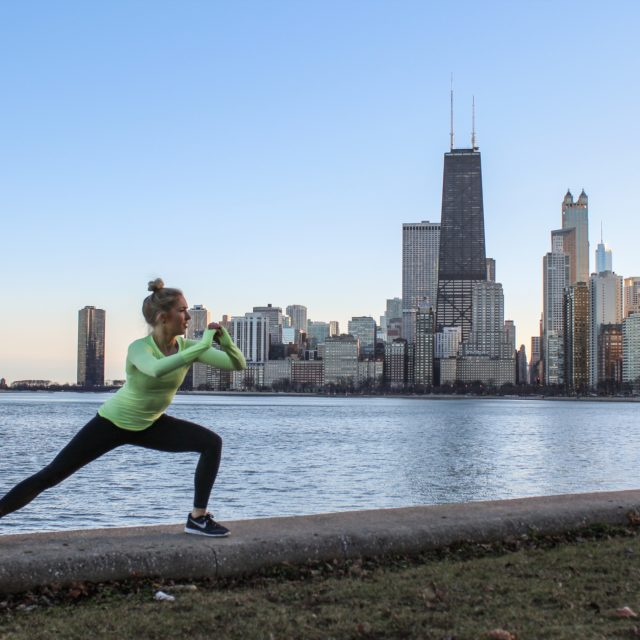 lateral lunge chicago lakefront